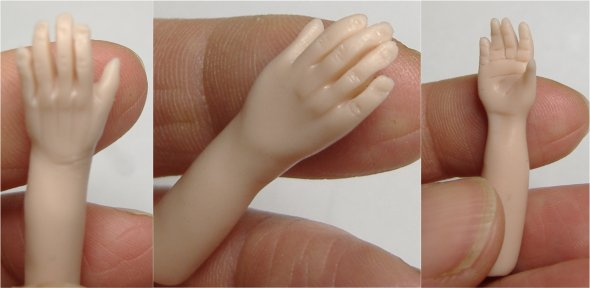 Learn to sculpt miniature 1:12 scale dolls hands for female, male and elderly variations with Artisan Julie Campbell